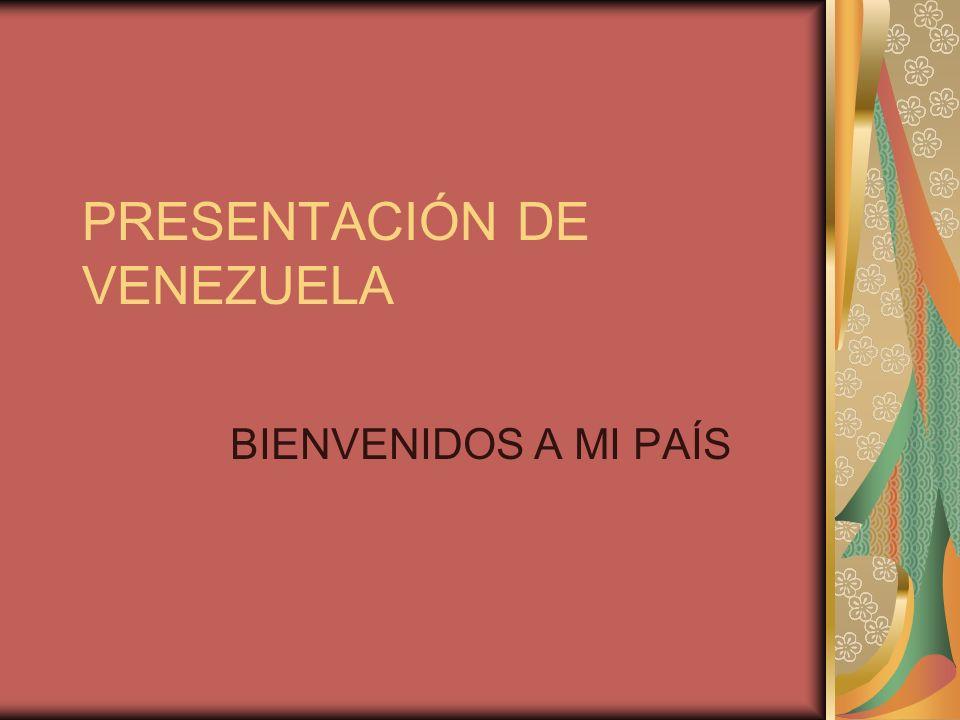 PRESENTACIÓN DE VENEZUELA