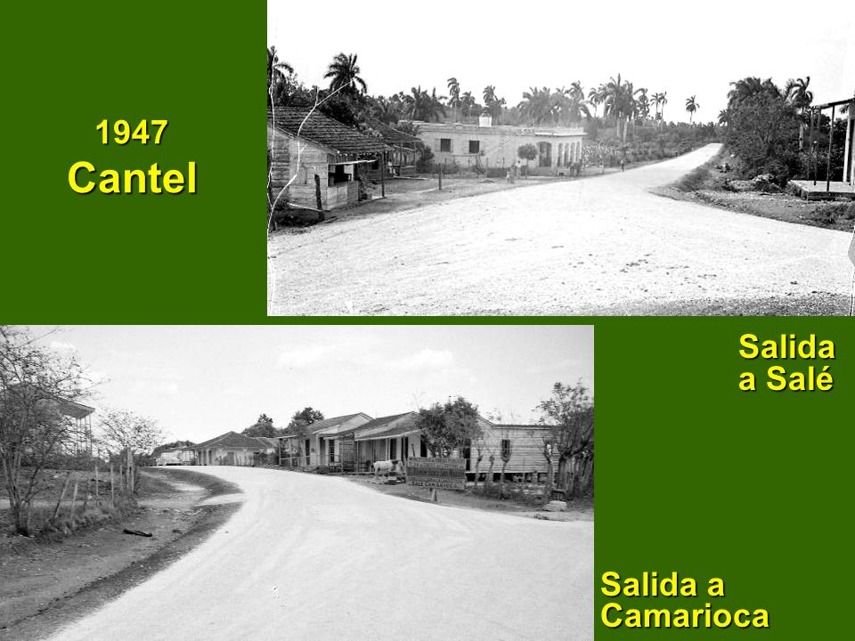 1947 Cantel Salida a Salé Salida a Camarioca