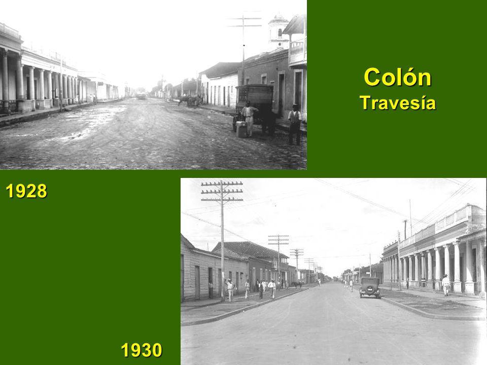 Colón Travesía 1928 1930