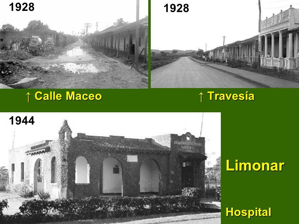 ↑ Calle Maceo ↑ Travesía