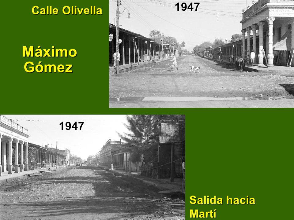 Calle Olivella Máximo Gómez