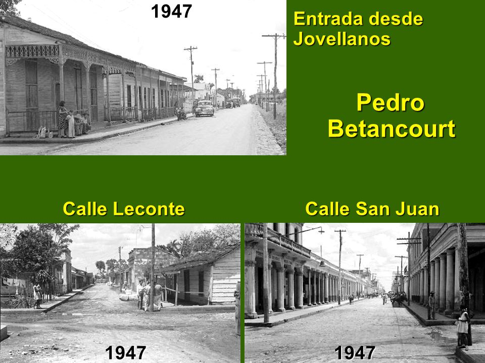 Entrada desde Jovellanos Pedro Betancourt