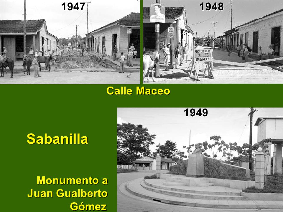Sabanilla Monumento a Juan Gualberto Gómez