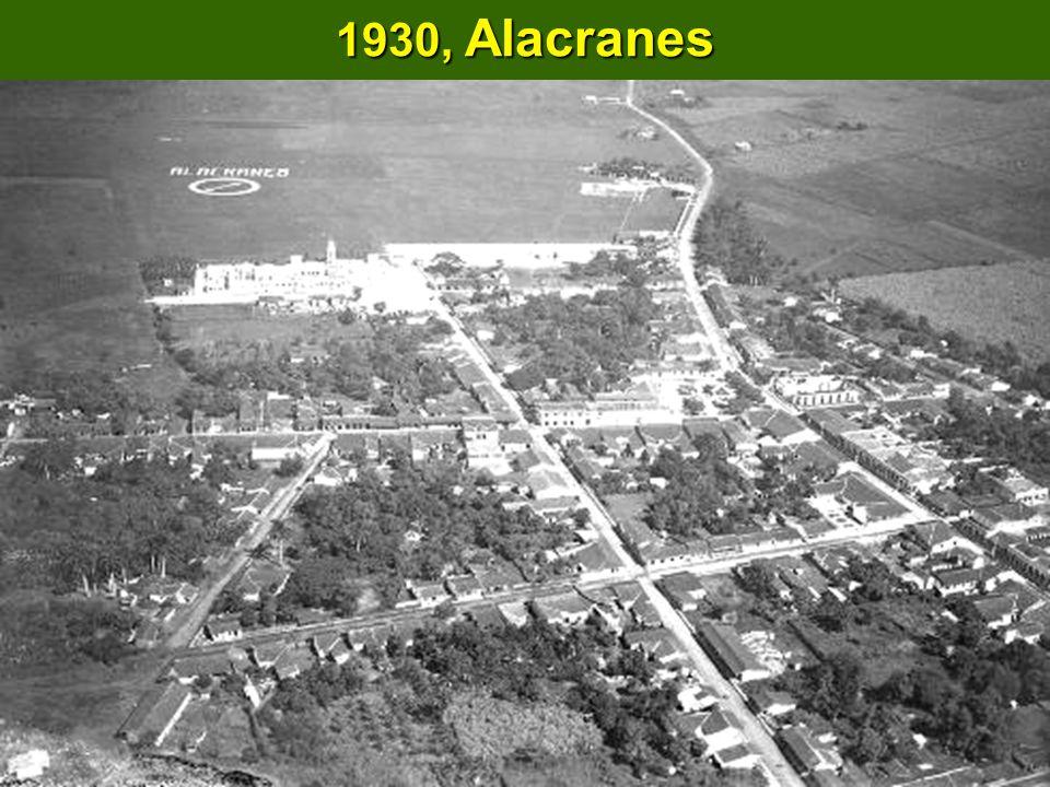 1930, Alacranes