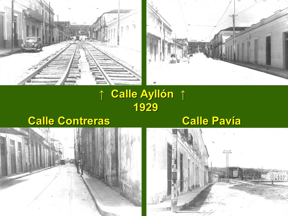 ↑ Calle Ayllón ↑ 1929 Calle Contreras Calle Pavía