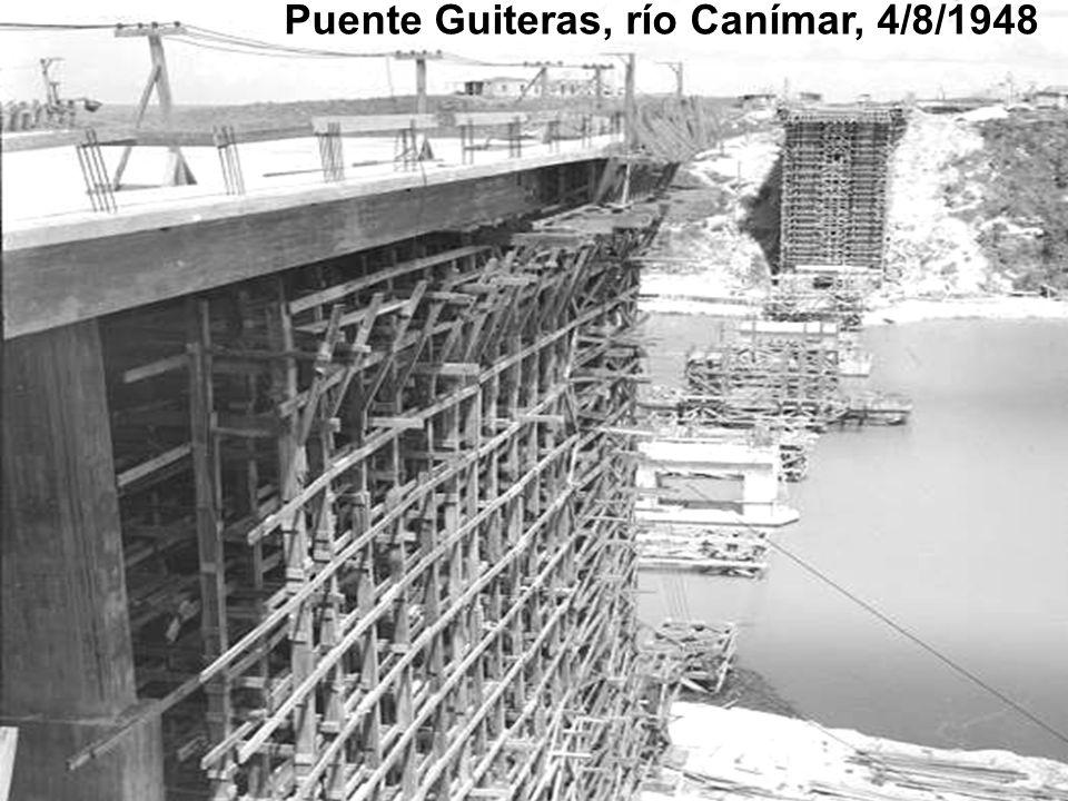 Puente Guiteras, río Canímar, 4/8/1948