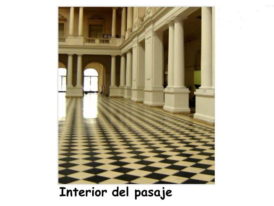 Interior del pasaje