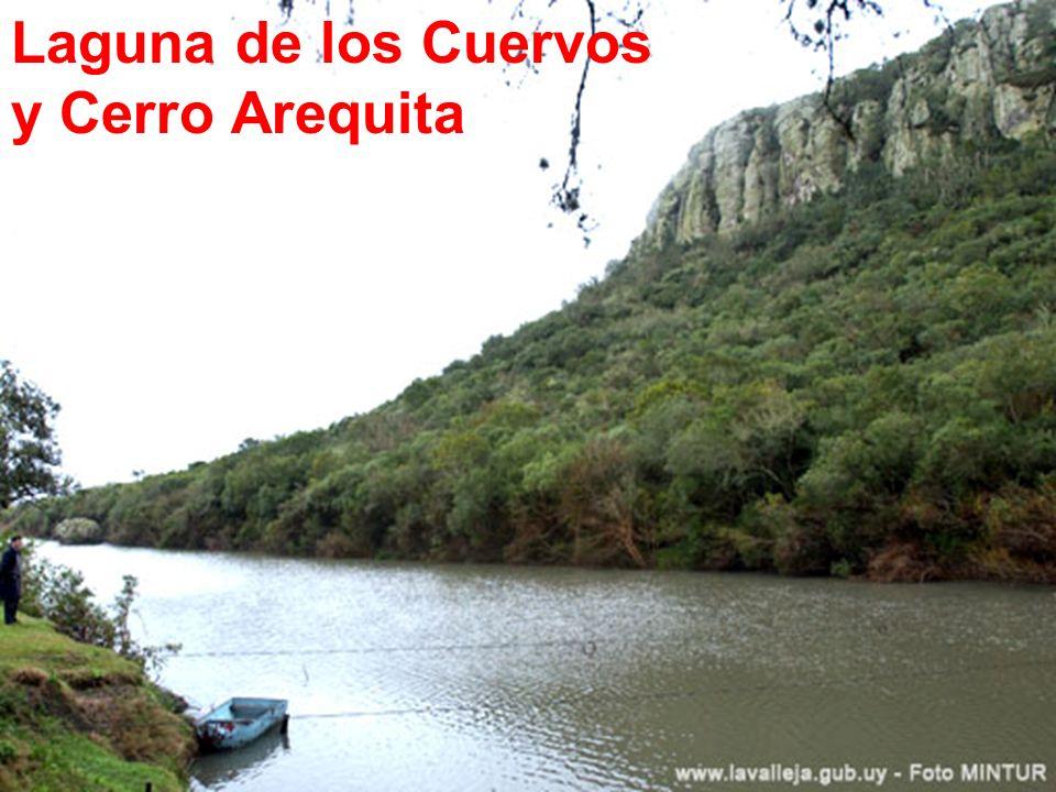 Laguna de los Cuervos y Cerro Arequita