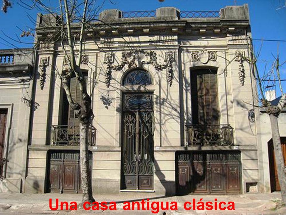 Una casa antigua clásica
