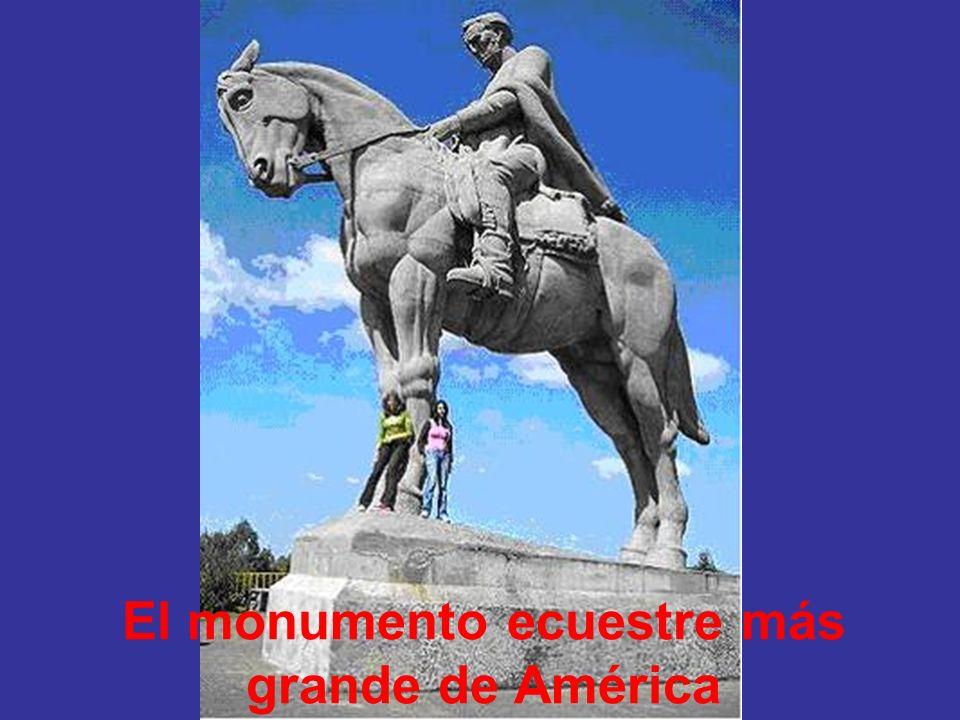 El monumento ecuestre más grande de América