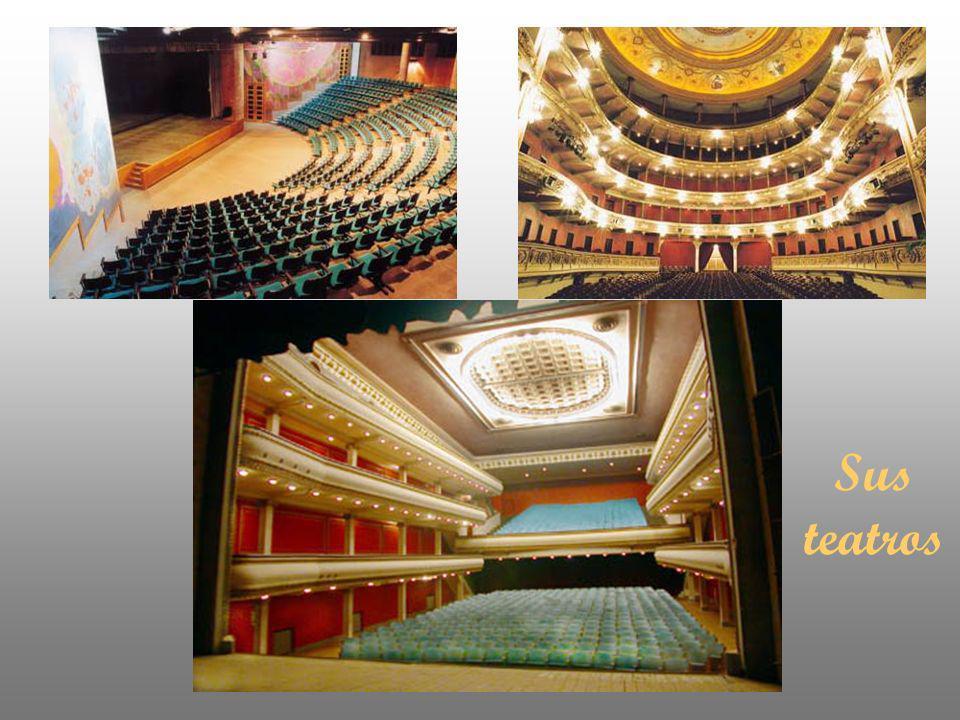 Sus teatros