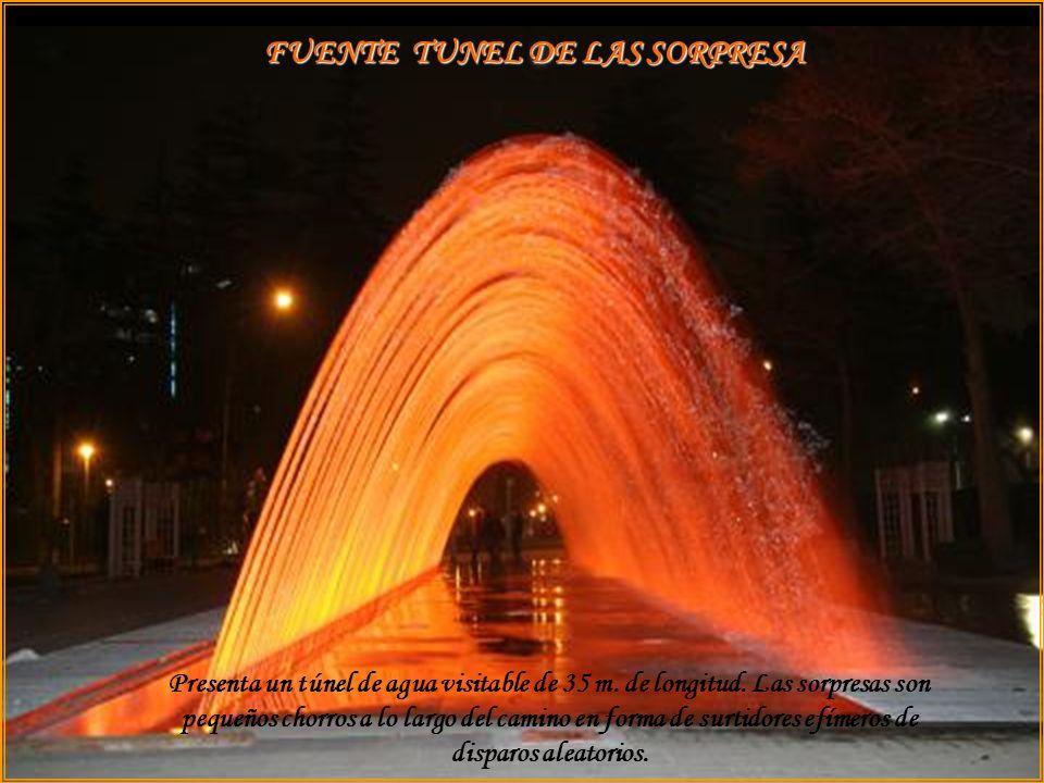 FUENTE TUNEL DE LAS SORPRESA