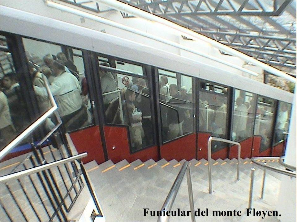 Funicular del monte Fløyen.