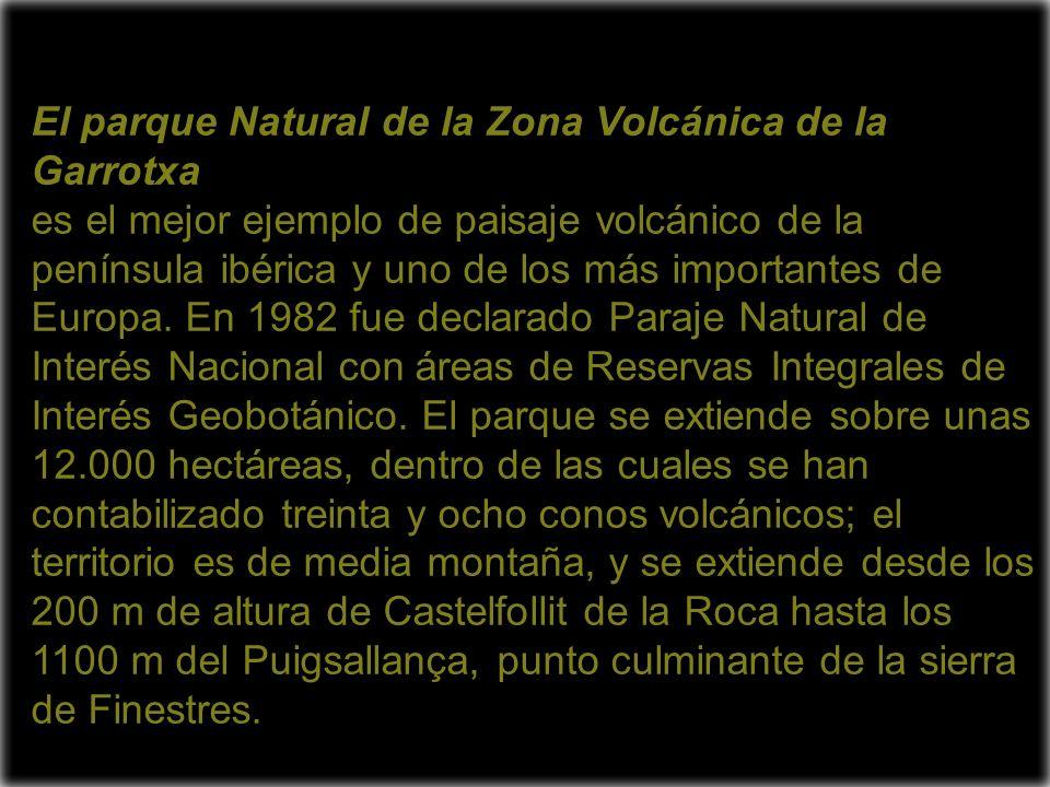 El parque Natural de la Zona Volcánica de la Garrotxa