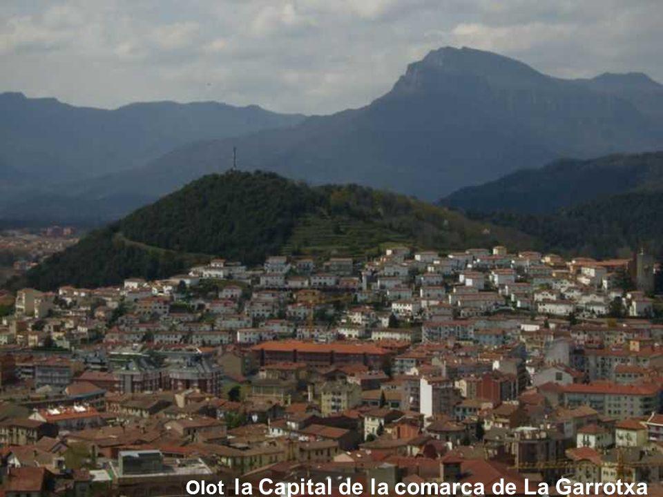 Olot la Capital de la comarca de La Garrotxa