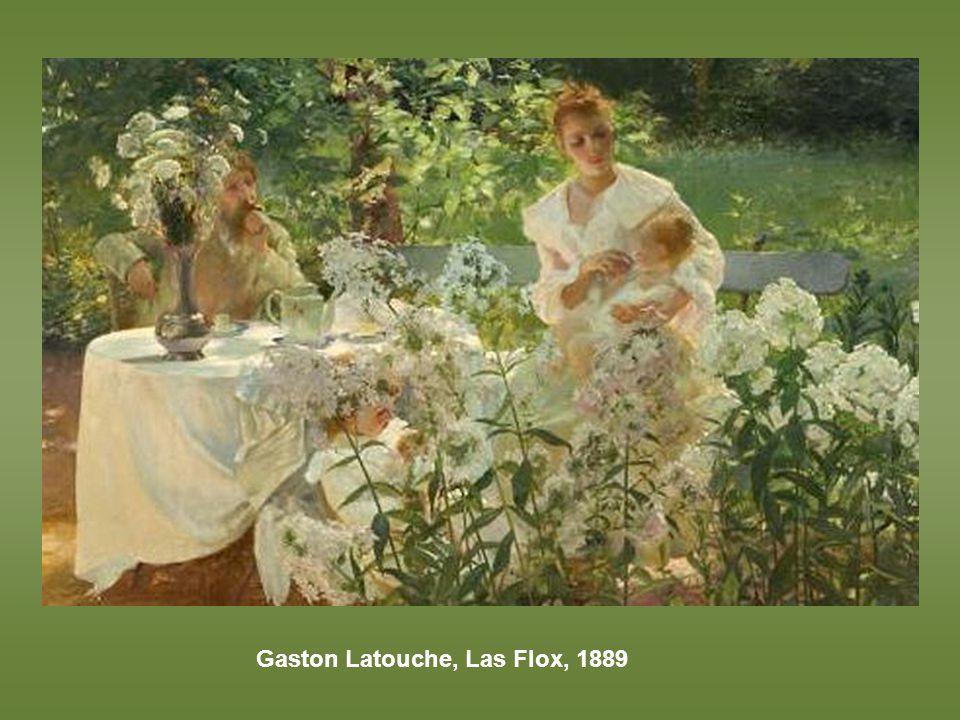 Gaston Latouche, Las Flox, 1889