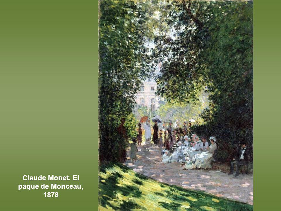 Claude Monet. El paque de Monceau, 1878