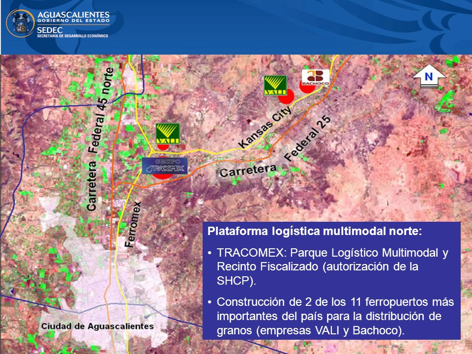Plataforma logística multimodal norte: