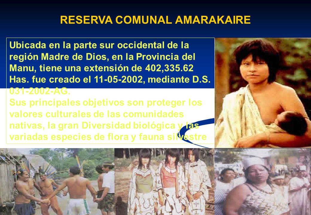 RESERVA COMUNAL AMARAKAIRE