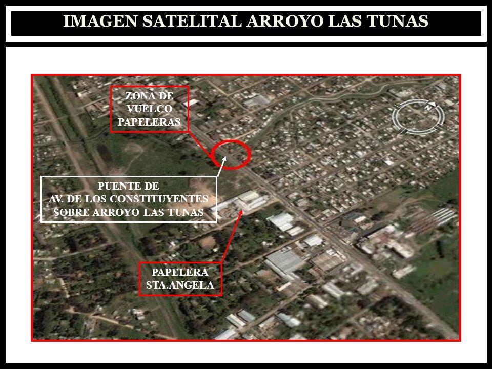 IMAGEN SATELITAL ARROYO LAS TUNAS