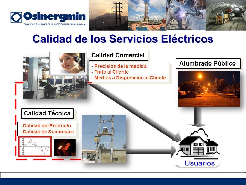 Calidad de los Servicios Eléctricos