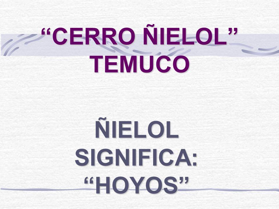 ÑIELOL SIGNIFICA: HOYOS