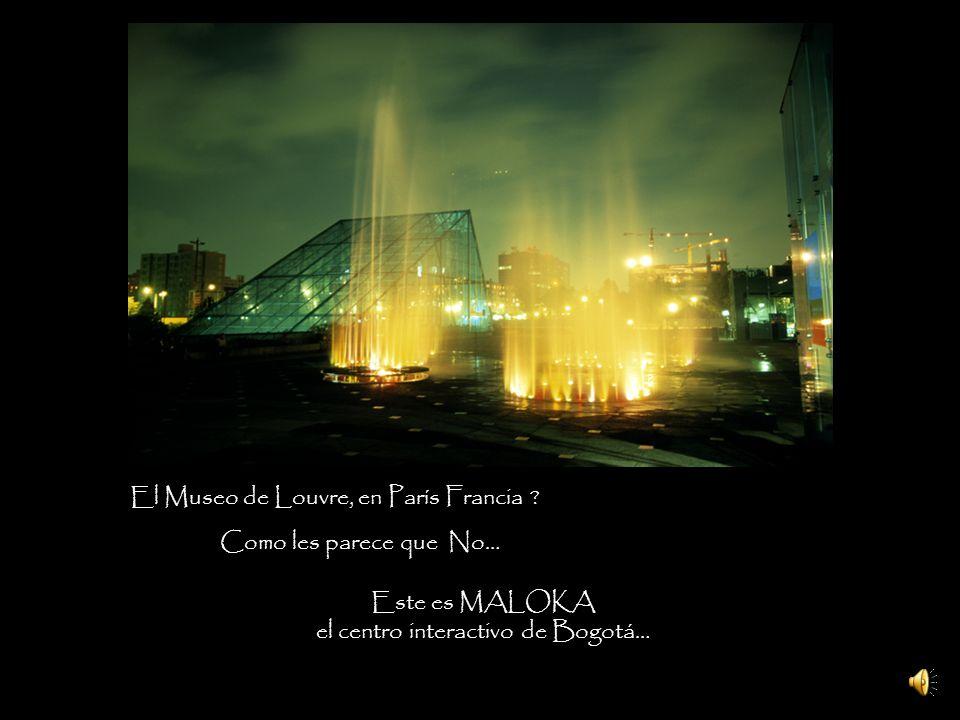 el centro interactivo de Bogotá…