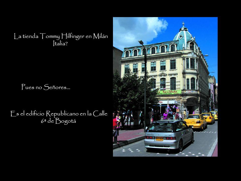 La tienda Tommy Hilfinger en Milán Italia