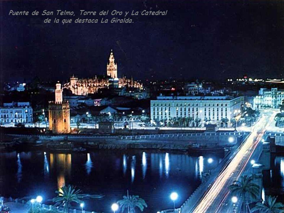 Puente de San Telmo, Torre del Oro y La Catedral