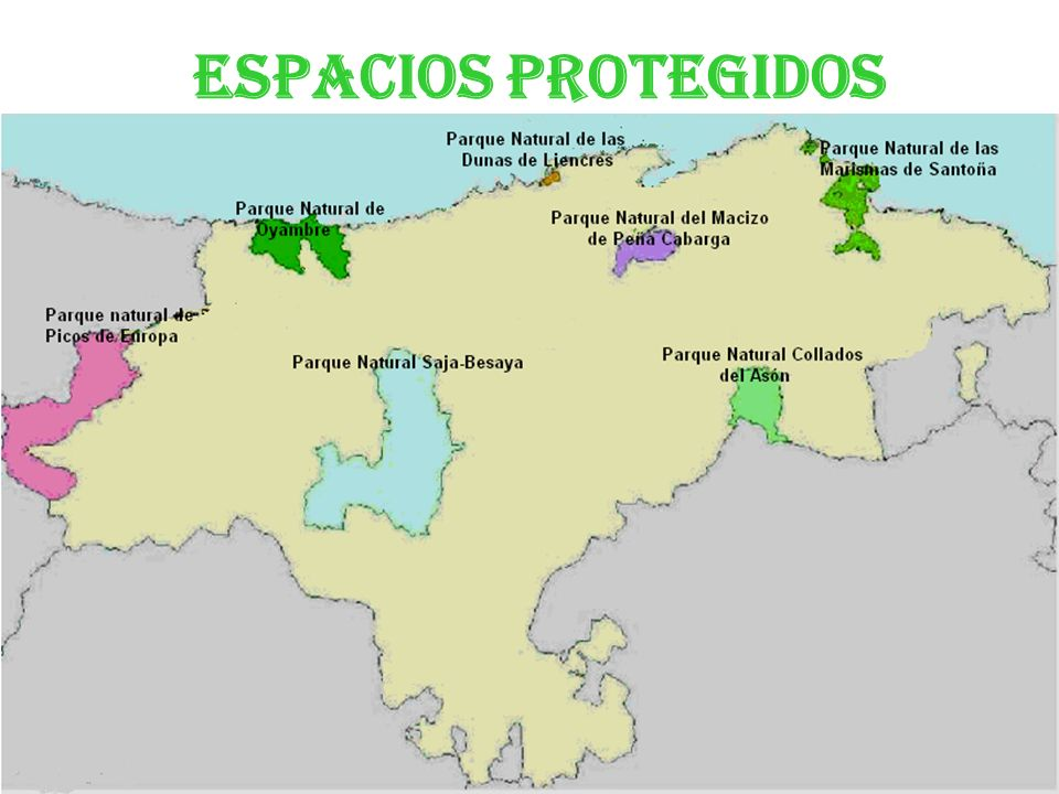 Espacios protegidos Parque Natural Saja- Besaya.