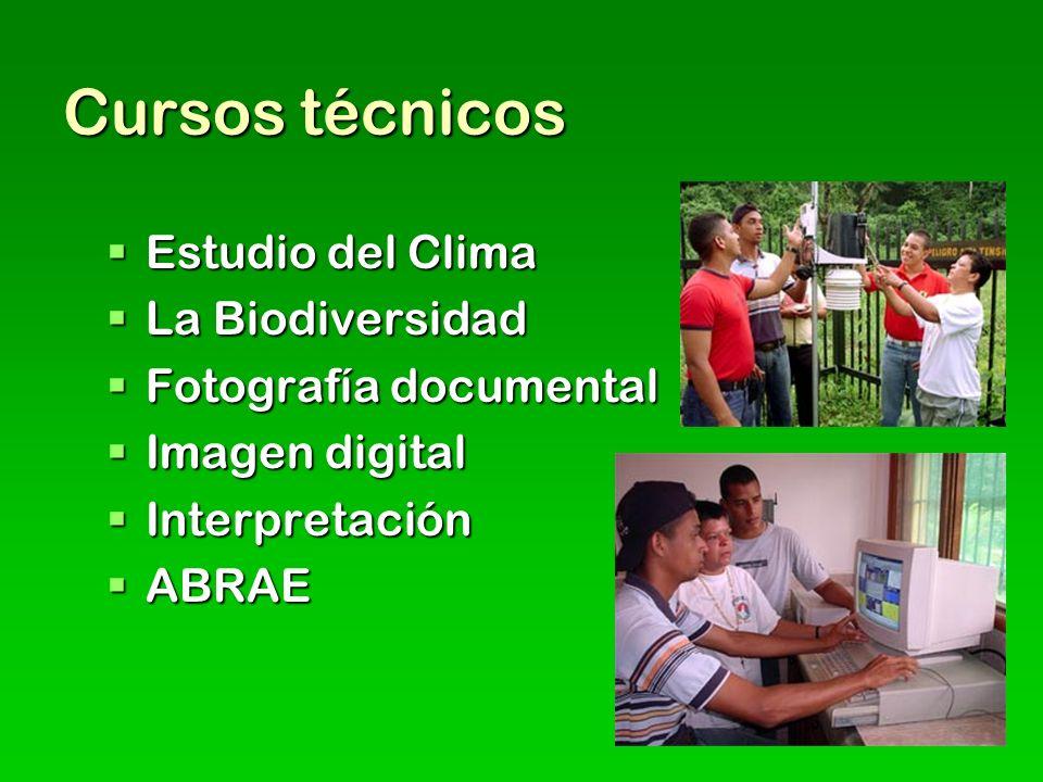 Cursos técnicos Estudio del Clima La Biodiversidad