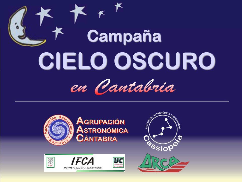 Campaña CIELO OSCURO en Cantabria