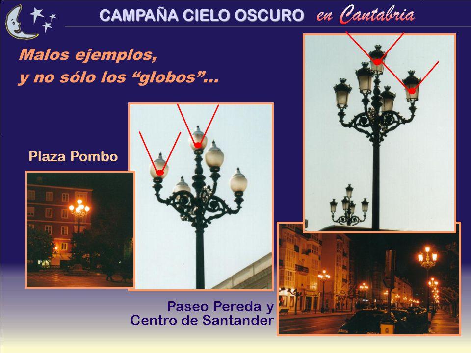 Malos ejemplos, y no sólo los globos ... Plaza Pombo