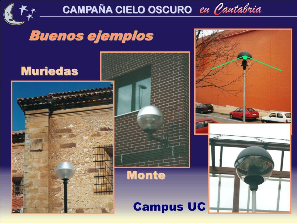 Buenos ejemplos Muriedas Monte Campus UC