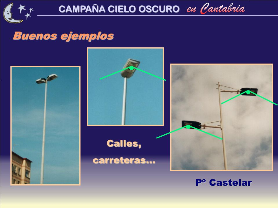 Buenos ejemplos Calles, carreteras... Pº Castelar