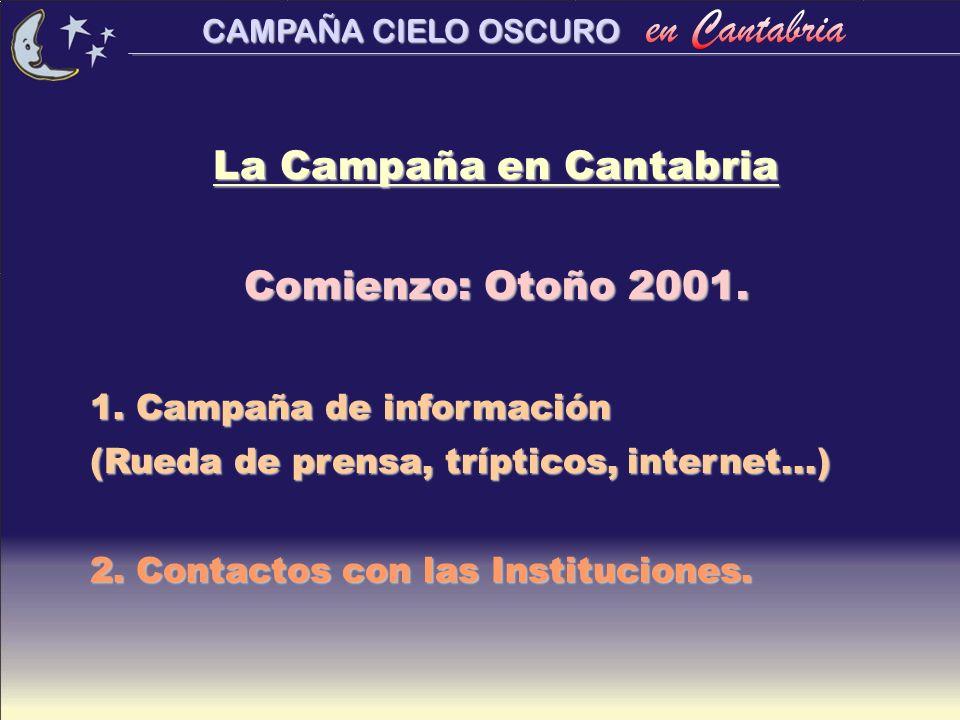 La Campaña en Cantabria