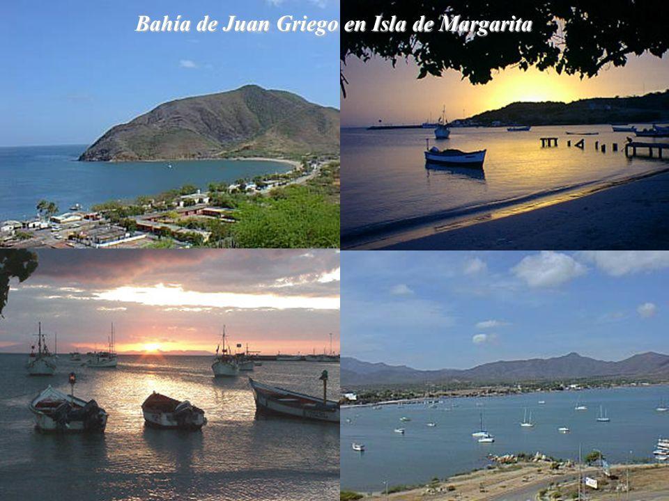 Bahía de Juan Griego en Isla de Margarita