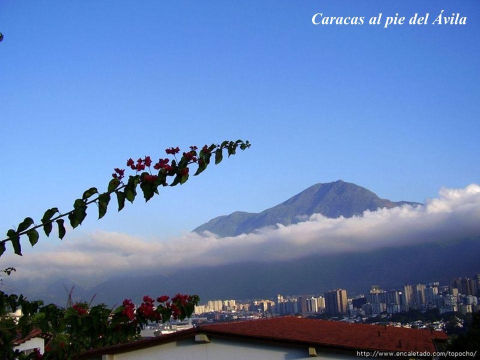 Caracas al pie del Ávila
