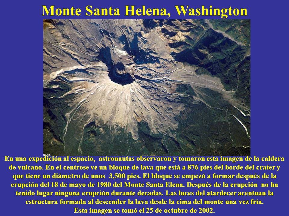 Monte Santa Helena, Washington