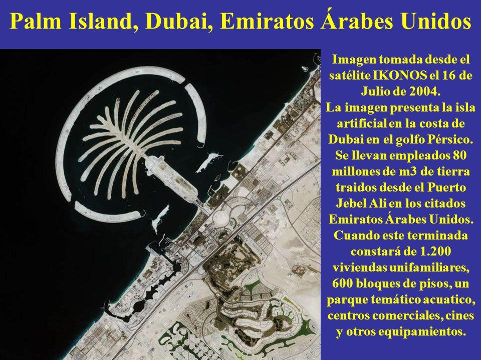 Palm Island, Dubai, Emiratos Árabes Unidos