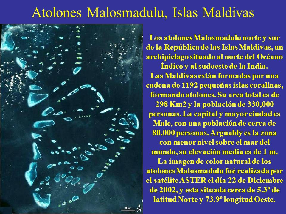 Atolones Malosmadulu, Islas Maldivas