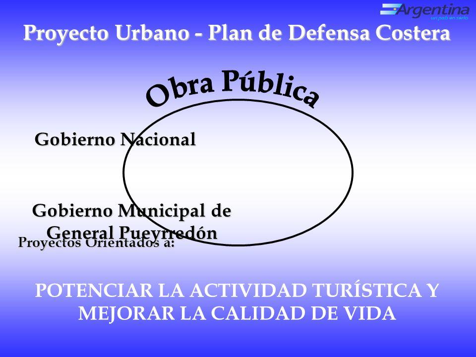 Proyecto Urbano - Plan de Defensa Costera