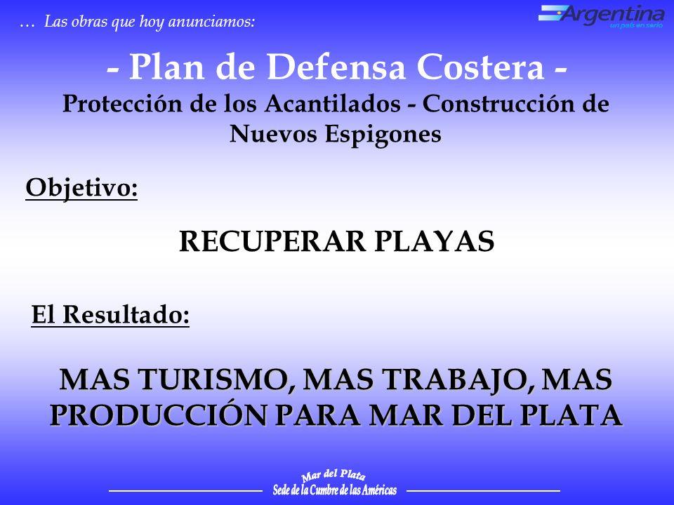 - Plan de Defensa Costera -