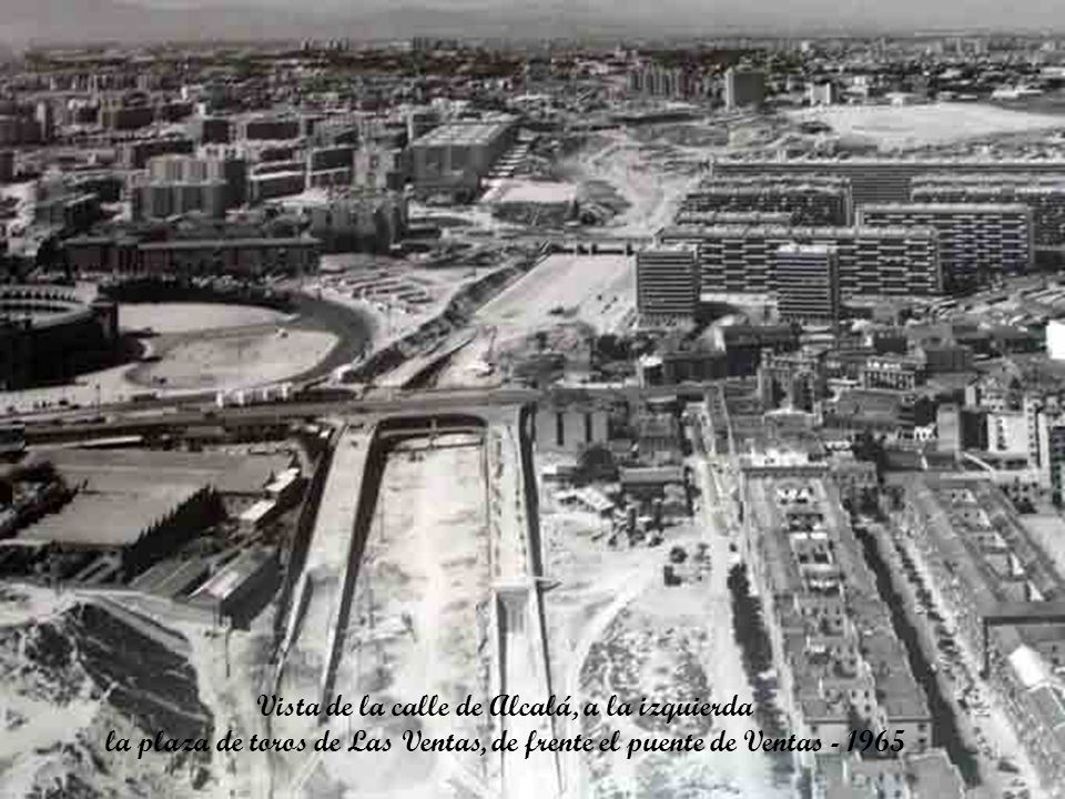Vista de la calle de Alcalá, a la izquierda