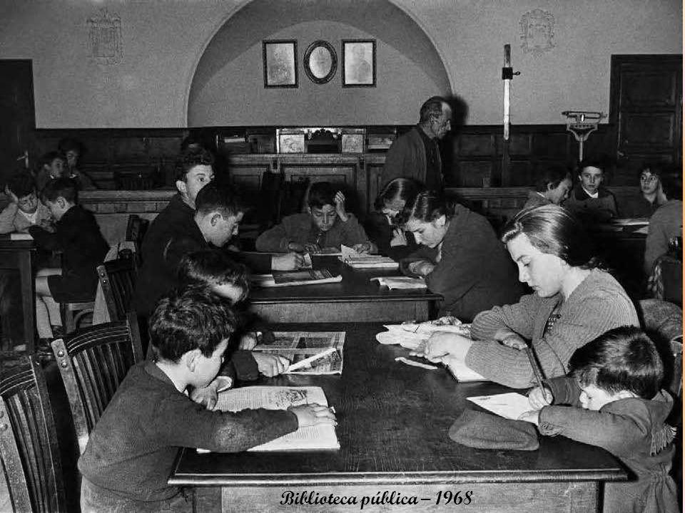 Biblioteca pública – 1968