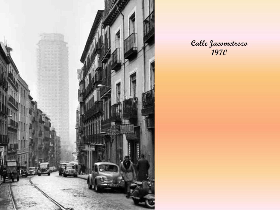 Calle Jacometrezo 1970