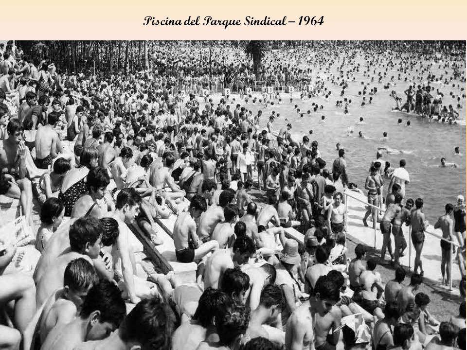 Piscina del Parque Sindical – 1964