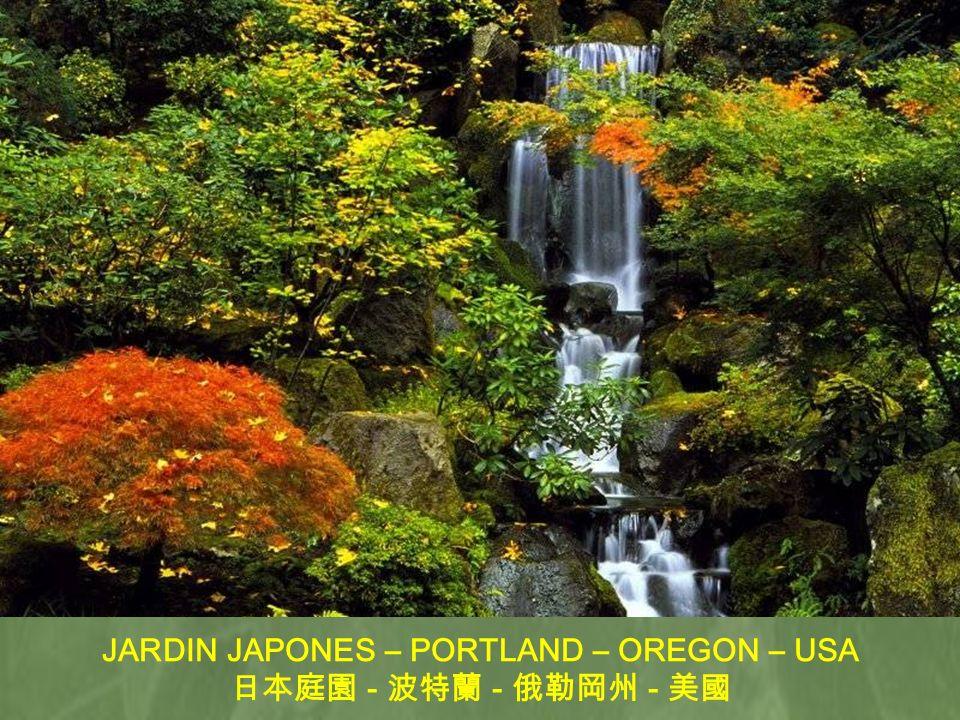 JARDIN JAPONES – PORTLAND – OREGON – USA