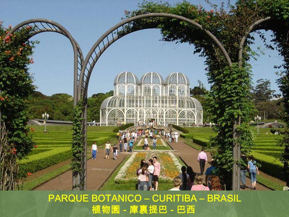 PARQUE BOTANICO – CURITIBA – BRASIL