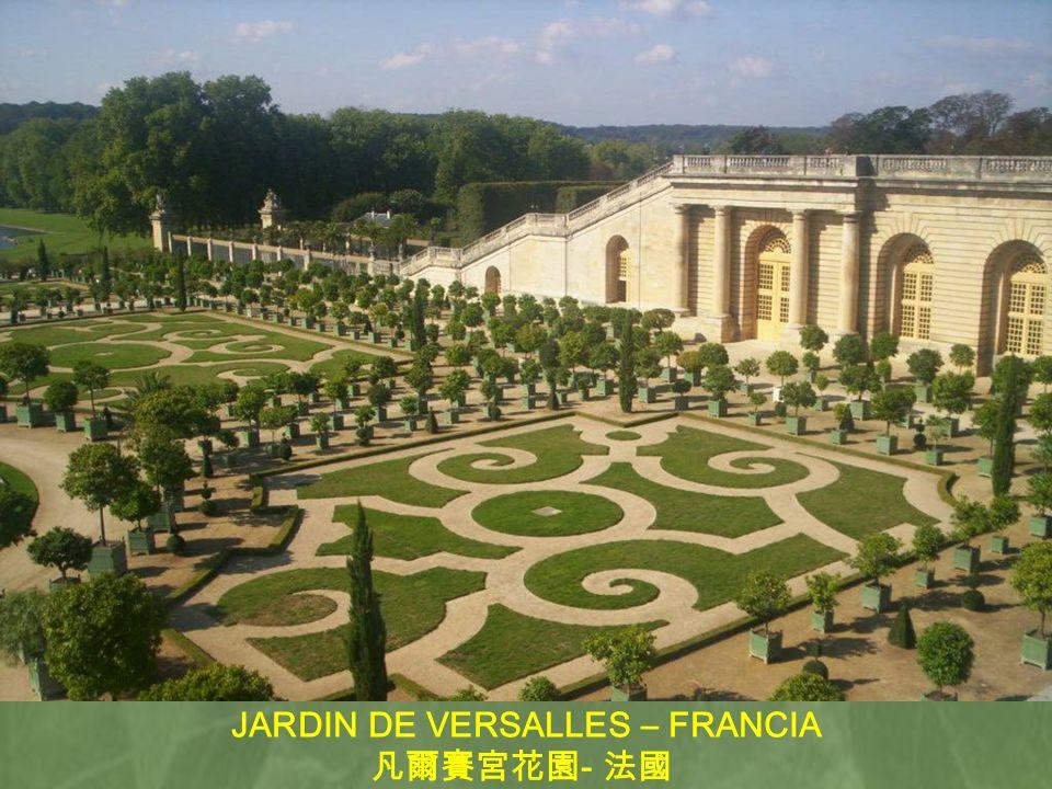 JARDIN DE VERSALLES – FRANCIA